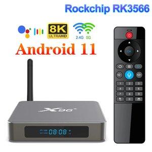X96 X6 TV Box Android 11 Smart TV Box 8GB 128GB RK3566 Support 4K Dual Wifi 1000M 4GB 64GB 32GB Media Player