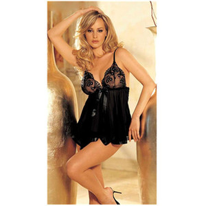 Transparent Mesh Nightdress Women Erotic lingerie Sling Skirt Thong Sets Fashion Trend Plus Size Lace Sexy Pajamas Summer Female New Home
