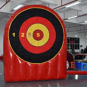 2,5 м W Открытый Действия Надувной Футбол Цель для Съемки Спортивные игры Надувные Цель Съемка DART Доски для детей и взрослых