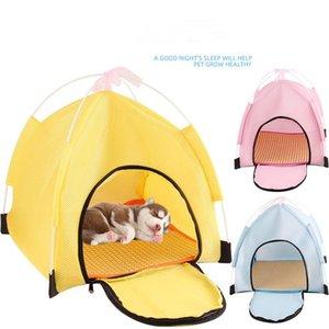 Portable chien chat chat chat lavable animal de compagnie maison avec coussin chiot chat intérieur extérieur dormir