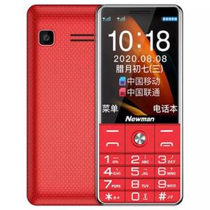 "NEWMAN L99 Mobile Phone 2.4"" Dual Sim Bluetooth Flashlight MP3 Radio Camera Loud Speaker Big Button Mobile Phone for Elderly"