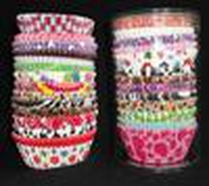 Wedding party baking cups cupcake liners muffin cases paper