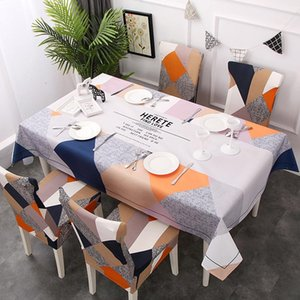 Table Cloth Waterproof Nordic Style Rectangle Tablecloths Polyester Home Kitchen Flamingo Tablecloth Party Banquet Dining Room Decorative