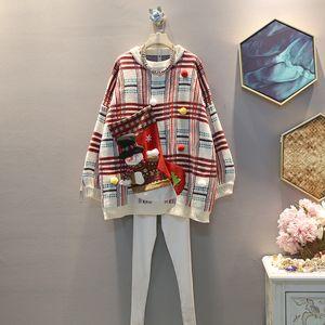 Designer 2020 New Women Christmas Sweaters Santa Pockets Pollover Hoodie Causal Clothing Sweater Fashion Design Brand ToETPP