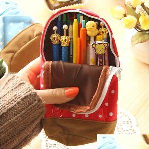 Wholesale-Crayon Boîte Crayon Sac à dos Enfants Papeterie Astuccio Scuola Trousse Outils scolaires Estuches School Jlloia Sinabag