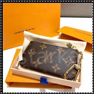 Anahtar Kılıfı M62650 Pochette Cles Tasarımcı Moda Bayan Erkekler Anahtarlık Kredi Kartı Tutucu Sikke Çanta Mini Cüzdan Çanta Charm Pochette Aksesuarları