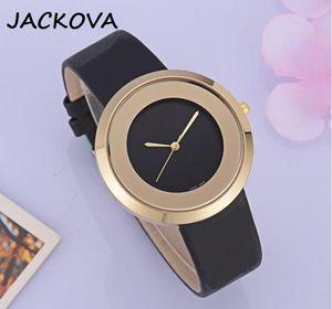 New Couple Simple Designer Women's Men's Leather Quartz Movement Fashionable men's High Quality Couple watches