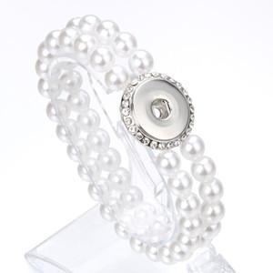 Unisex Bohemian 18mm Metal Snap Button Natural Stone Crystal Bracelet Carter Love Bangle Wrist Watches For Women jllABz