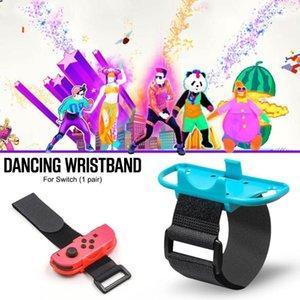 1 пара просто танцевальная регулируемая набор браслетов, совместимый для коммутатора Joy-Con Controllers GamePad с ремешком