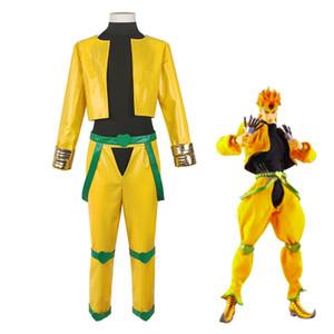 Anime JoJo's Bizarre Adventure JoJo Dio Brando Costumes Cosplay Clothes Coat Pants Uniform Sets