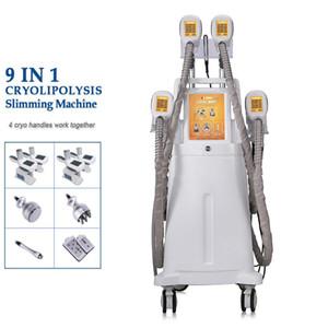 Cryolipolysis Free Freeze Slimming Machine Cavitación Cuerpo de vacío Sistema de adelgazamiento Crioterapia Cryo Máquina congelación de grasa LLLT LIPO LÁSER