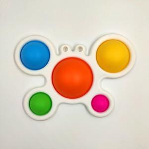 Estilos mais novos Simples Fidget Brinquedos Fidget Push Silicone Toys Sensory Infantil Educante Educação Atenção Aprendizagem Brinquedos H25C88