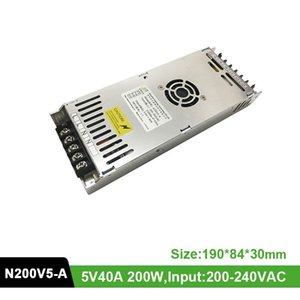 Display Energy-G N200V5 LED Power Supply Adapter 5V 40A 200W Switching Input 220V Output DC5V For