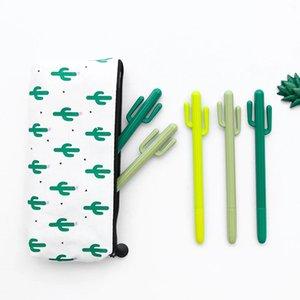 الإبداعية الصغيرة الصحراء الصارص الصبار التصميم القلم كوريا الجنوبية القرطاسية الكرتون لطيف هلام القلم طالب جائزة هلام الأقلام DHE5041