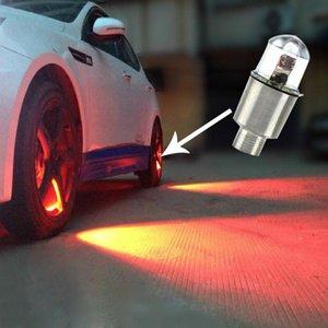 Interior&External Lights 2pcs Valve Dust Car Bike Wheel Tyre Air Stem LED Light Cap Cover Accessories Tire Decorative Lamps