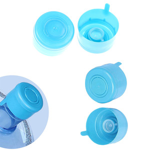 5pcs / 1pcs 3 Gallon 5 Gallon Bottiglia d'acqua Snap Snap sui coperchi non versamento Riutilizzabile sostituibile Imbarcazione per bottiglia d'acqua Anti Splash Peel Off Tops