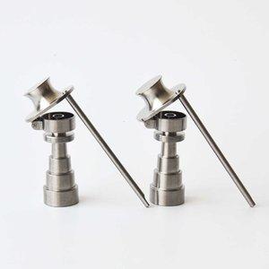 10mm14mm18mm 6 en 1 Gentleman Hat Style Nail GR2 Titanium Banger Buena calidad Mejor precio Envío gratis