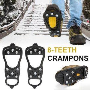 Cords, Slings And Webbing 8-Tooth Non-Slip Crampons For Snow Walking On Icy Roads Ice Surface Fall Prevention Simple Hiking Hunting