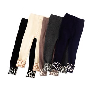 2021 New Kids Children Girls Knitting Tights Legging Pant Spring Autumn Winter Leopard Jjud
