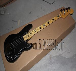 Prezzo inferiore di alta qualità 2021 Nuovo FD 4 String Black Black Black Bass Electric China Chitarra