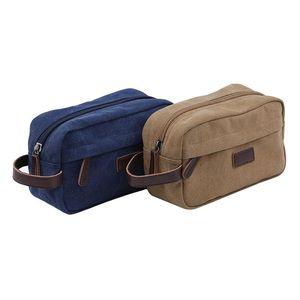 Fashion Canvas Travel Bag Multifunctional Portable Waterproof Wash Bag Storage Handbag Ladies Mens Hand Storage Bags