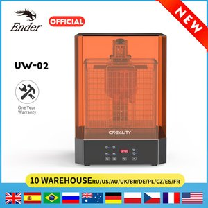 UW-02 10.1 Inches Washing and Curing Machine for 3D Printers LCD SLA DLP Models Resin Dual-Band UV Light Source Creality 3D