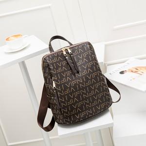 HOT Classic Women Real Leather Joining Together Handbag Purse Backpack Vintage Color Backpack Women's Travel Bag