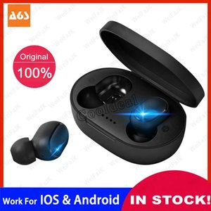 A6S TWS Bluetooth Earphone Wireless Headphones For Xiaomi Redmi Airdots Android IOS Headsets Mini Earbuds With Mic