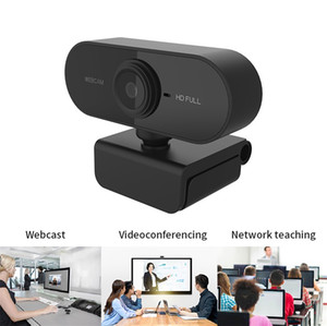 New HD 1080P Webcam Mini Computer PC WebCamera with Microphone Rotatable Cameras for Live Broadcast Video Calling Conference Work