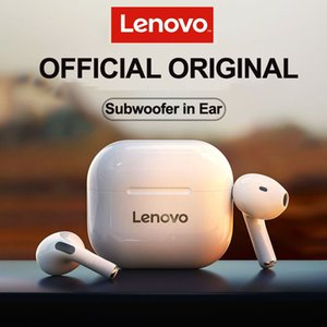 Nuevo Lenovo original LP40 TWS inalámbrico auricular Bluetooth 5.0 Dual Estéreo Reducción de ruido Control táctil Long Standby 300mAh
