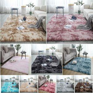 Fluffy Rug Non-Slip Faux Fur Soft Large Plush Living Room Floor Rugs Bedroom Carpet Mat Kids Room Home Decor