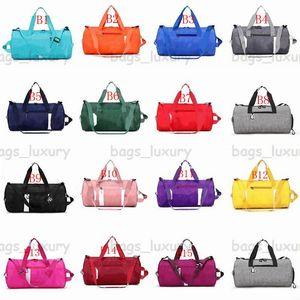Mujeres Aptitud Bolso Deportes Gimnasio Bolsa Grande Capacitación Pink Black Travel Duffel Bags Yoga Mat Bags Viajes Bolsa de asas
