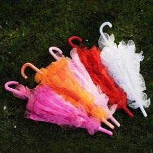 Свадебный кружевной зонт 10 цветов элегантный свадьба зонтик кружевной ремесла зонтик для выставления вечеринки украшения фото реквизиты Umbrellaslls299