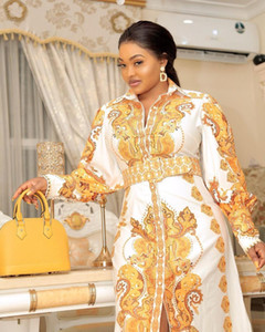 HGTE Long Maxi 드레스 아프리카 드레스 여성용 Dashiki Plus 크기 드레스 숙녀 전통 아프리카 의류 요정 Dreess 210309