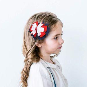 2021 New Grosgrain Ribbon Hair Bows With Clip Girl's hair bows Boutique Clip Headware Kids Accessories