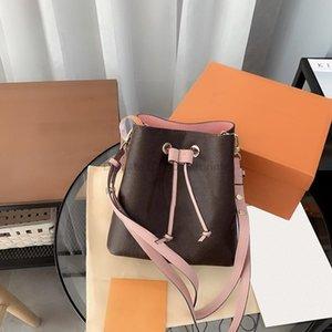 Luxurys Bags 2021 Женская Подлинная Мода Кожаная Сумочка Дамы Мини Дизайнеры КФГГ Везда на плечо Кровавование Печатная сумка919 ОО