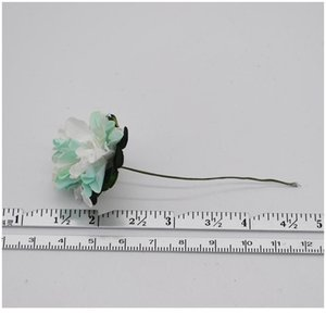 72pcs lot 3cm Artificial Paper Flowers Chrysanthemum Flower Bouquet Wedding Party Decoration Diy Scrapbooking Wreath Fak jllCgi