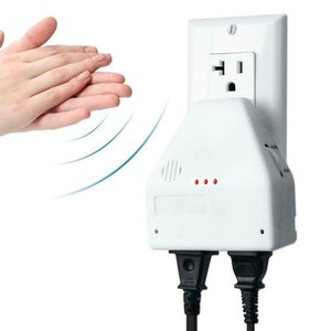 The Clapper Sound Activated Switch Control Sound Activated On Off Switch By Hand Clap 2 Devices Home Or Away Settings New#BC