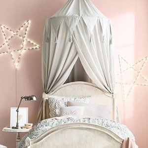Baby Bedroom Mosquito Net Canopy Bedcover Girls Room Fairy Curtain Bedding Dome Tent Room Decor Canopy Netting Bed Tent SEA BWC6275