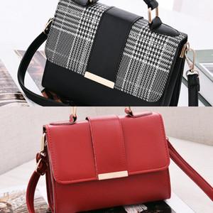 Shujin 2020 Rivet Corrach Sacos Crossbody para Mulheres 2020 Ombro Messenger Bag Senhora Luxo Bolsas Moda C0224