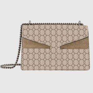 Designer Dionysus shoulder bag high quality leather ladies handbag fashion chain women messenger bags with original box mini handbags 3 colors available