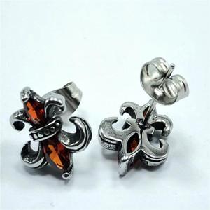 925 Ayar Gümüş Amerikan Avrupa Parmak Yüzük Takı El Yapımı Tasarımcı Haçlar Antik Gümüş Stil Paslanmaz Çelik Küpe