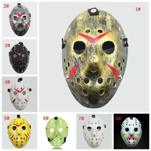 Masquerade Masks Jason Voorhees Mask Friday the 13th Horror Movie Hockey Mask Scary Halloween Costume Cosplay Plastic Party Masks F11