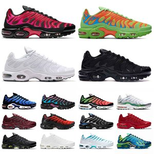 max plus tn airmax tns TAMAÑO EE. UU. 12 zapatos para correr para hombre para mujer en todo el mundo tn plus se triple black all white zapatillas deportivas EUR 36-46