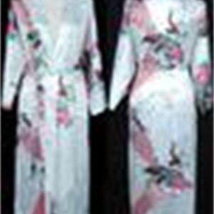 Pajama royan silk Robe Ladies Satin womens Solid Lingerie Sleepwear Kimono Bath Gown pjs Nightgown 17 colors#3699 XHSW05
