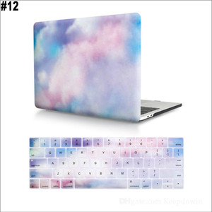Laptop Case for MacBook Air 13 inch Case with Keyboard Cover 3D Effect Matte Clear Newest Animal Hard Cover Various Pattern Designs