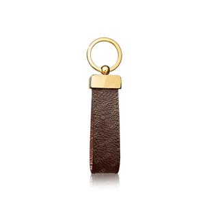 2021 Keychain Schlüsselanhänger Schnalle Liebhaber Auto Keychain Handgemachte Leder Schlüsselanhänger Männer Frauen Tasche Anhänger Zubehör 4 Farbe 65221 mit Box