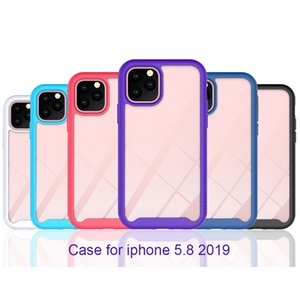 For iPhone 12 11 Pro XS MAX SE XR X 8 7 6 S Plus TPU Bumper Clear Case Anti Shock Silicon Phone Case For iPhone 11 Pro Case Newest