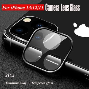 Camera Lens Protector Case For iPhone 13 Pro Max 12 Mini 11 XR XS X 13Pro Titanium Alloy + Tempered Glass Screen Protectors