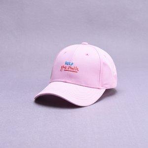 2021 primavera estate nuovo stile lettera ricamo cotone cotone casquette berretto da baseball regolabile cappelli snapback per bambini ragazzo e ragazza 69